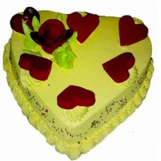 Heart Shape Designs cake